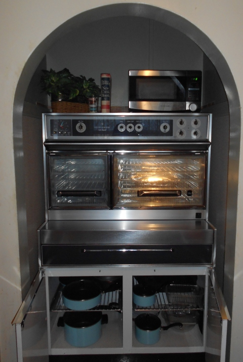 Flair Stove Storage
