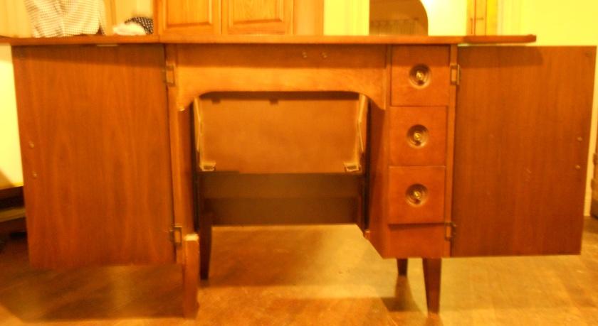 cabinet open