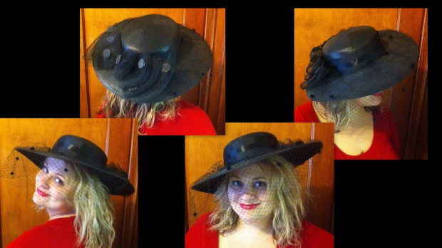 My daughter, Ashley, Derby Hat Selection 2014